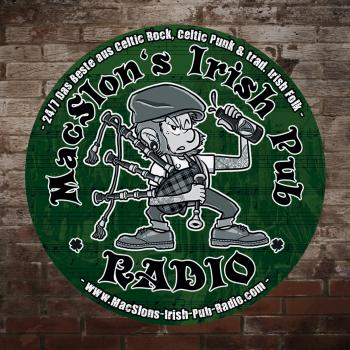"MacSlon`s Irish Pub Radio ""Logo"" Bierdeckel / Untersetzer"