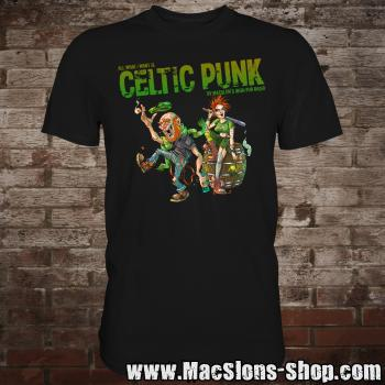 "MacSlon's ""Celtic Punk - All I Want II"" T-Shirt"