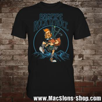"MacSlon's ""Bagpipe Rock'n'Roll II"" T-Shirt"