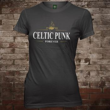 "MacSlon's ""Celtic Punk - Forever"" Girly-Shirt"