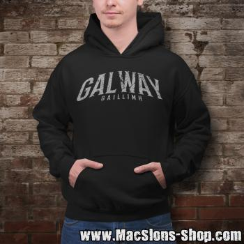 "Cities Of Ireland ""Galway"" Hoodie (black)"
