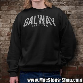 "Cities Of Ireland ""Galway"" Sweatshirt (black)"