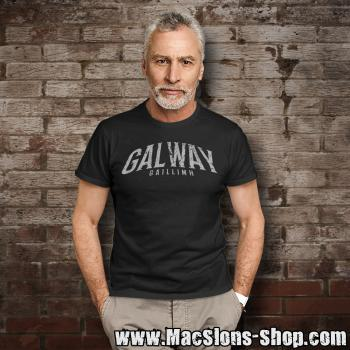 "Cities Of Ireland ""Galway"" T-Shirt (black)"