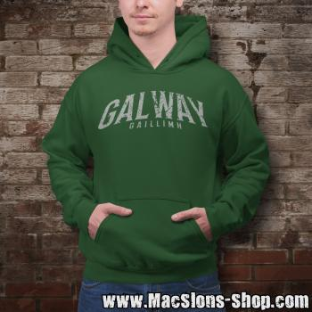 "Cities Of Ireland ""Galway"" Hoodie (green)"