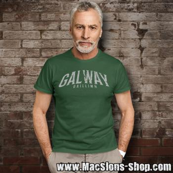 "Cities Of Ireland ""Galway"" T-Shirt (green)"