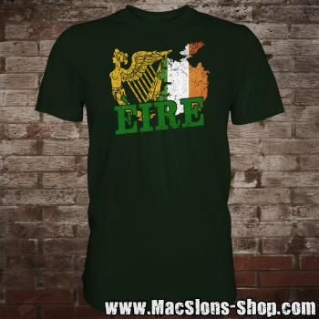 "Celtic Nation ""Ireland / Èire"" T-Shirt (green)"