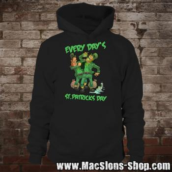 "MacSlon's ""Every Day's St. Patricks Day"" Hoodie (black)"