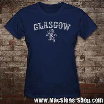 "Glasgow ""Lion"" Girly-Shirt (navy)"