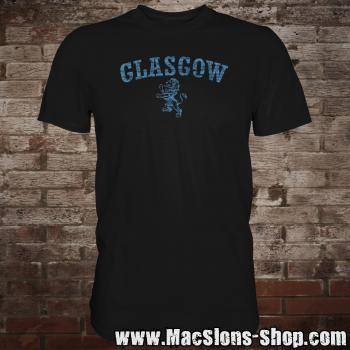 "Glasgow ""Lion"" T-Shirt (black-navy)"