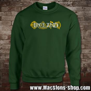 "Ireland ""Symbols"" Sweatshirt (green)"