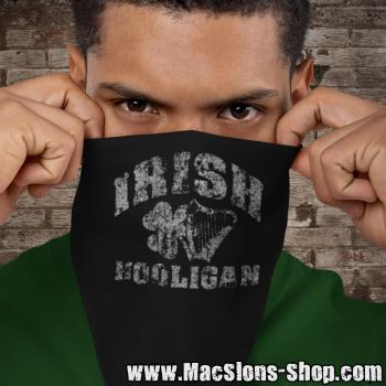 """Irish Hooligan"" Bandana (black)"
