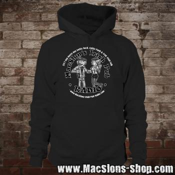 "MacSlon's ""Couple Logo"" Hoodie (black)"
