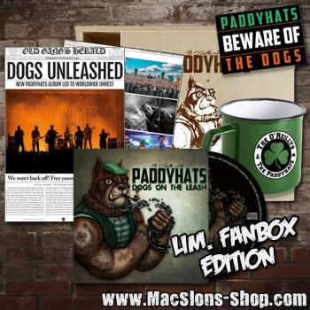 "O'Reilly's & The Paddyhats ""Dogs On The Leash"" CD (Limited Fanbox-Edition)"