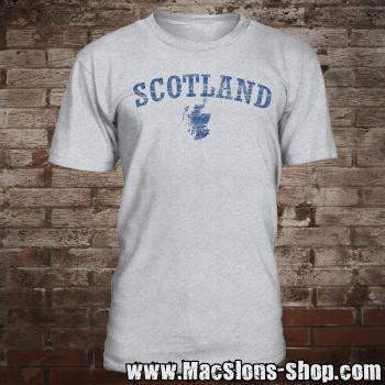 "Scotland ""Landscape"" T-Shirt (grey-navy)"