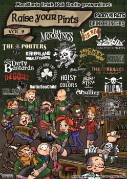 Raise your Pints Vol.2 Poster (A1)