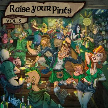 "V.A. ""Raise Your Pints Vol.3"" CD"