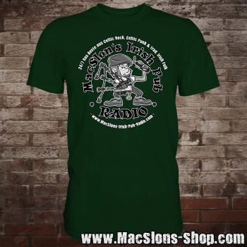 "MacSlon's ""24/7 Logo"" T-Shirt (green)"