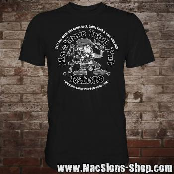 "MacSlon's ""24/7 Logo"" T-Shirt (black)"