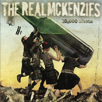 "Real McKenzies ""10.000 Shots"" CD"