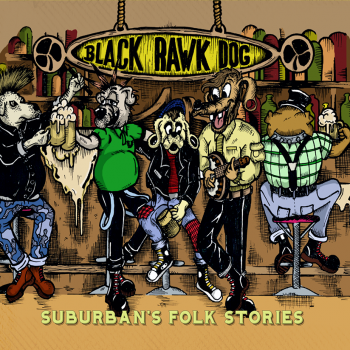 "Black Rawk Dog ""Suburban's Folk Stories"" CD (DigiPack)"