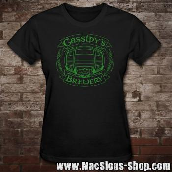 "Cassidy's Brewery ""Logo"" Girly-Shirt"