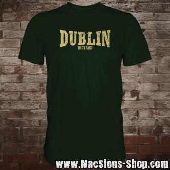 "Dublin ""Ireland"" T-Shirt (green/beige)"