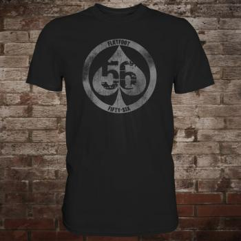 "Flatfoot 56 ""Spade"" T-Shirt (black/grey)"
