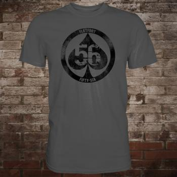 "Flatfoot 56 ""Spade"" T-Shirt (grey/black)"