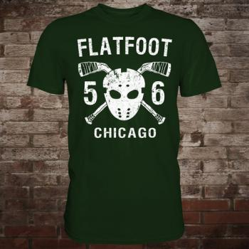 "Flatfoot 56 ""Hockey"" T-Shirt (green/white)"