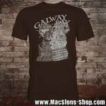 "MacSlon's ""Galway Bay"" T-Shirt (brown)"