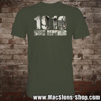 "1916 ""Irish Republic"" T-Shirt (urban-khaki)"
