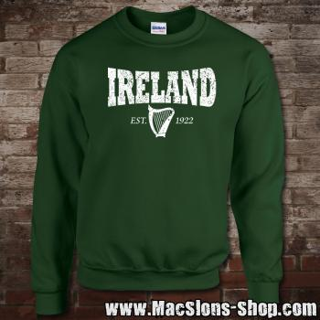 "Ireland ""Harp 1922"" Sweatshirt (green/white)"