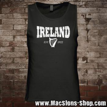 "Ireland ""Harp 1922"" Man-Tank-Top (black/white)"