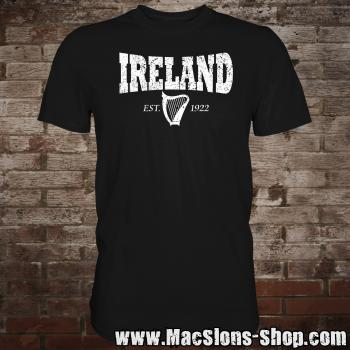 "Ireland ""Harp 1922"" T-Shirt (black)"