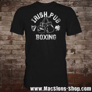 "Irish Pub ""Boxing"" T-Shirt (black)"