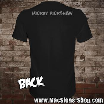 "Mickey Rickshaw ""Home In Song"" T-Shirt (black)"