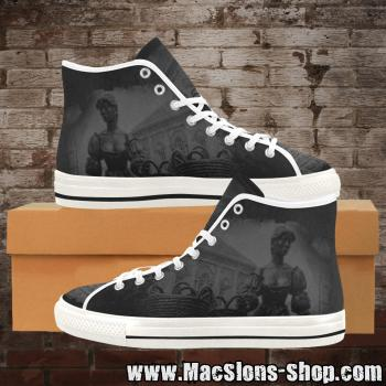 "MacSlon's ""Molly Malone"" Girl Canvas High-Top Shoes"