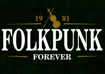 """Folkpunk - Forever"" Poster (A1)"