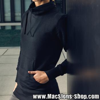 "MacSlon's ""Irish Rover"" Girly Sweater Turtleneck (black/white)"