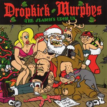 "Dropkick Murphys ""The Season's Upon Us"" EP (7"", Single, Ltd, Red)"