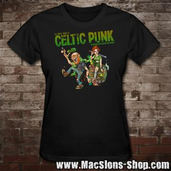 "MacSlon's ""Celtic Punk - All I Want II"" Girly-Shirt"