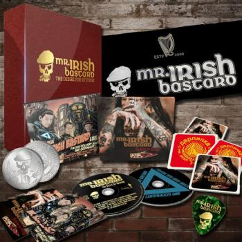 "Mr. Irish Bastard ""The Desire For Revenge"" 2CD (Red Edition-Ltd Box)"