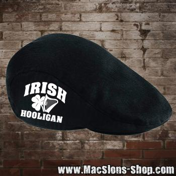 """Irish Hooligan"" (white) Flatcap / Schiebermütze"