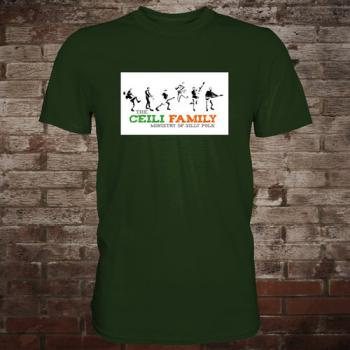 "Ceili Family ""Ministry Of Silly Folk"" T-Shirt (Grün)"