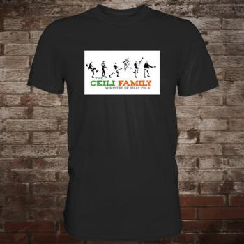 "Ceili Family ""Ministry Of Silly Folk"" T-Shirt (schwarz)"