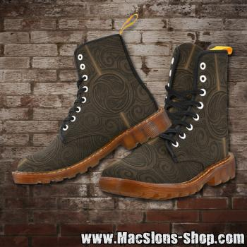 "MacSlon's ""Celtic"" Girl-Boots (brown)"