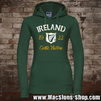 "Ireland ""Celtic Nation I"" Girly-Hoodie (green)"