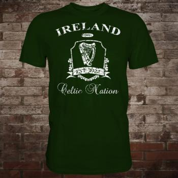 "Ireland ""Celtic Nation II"" T-Shirt (green/white)"