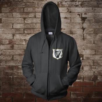 "Ireland ""Celtic Nation I"" Zip-Jacke (black)"