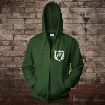 "Ireland ""Celtic Nation I"" Zip-Jacke (green)"